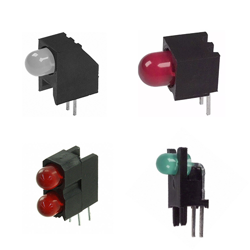 Right Angle Thru-hole PCB Mount LED Indicators