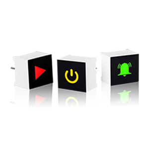 Capacitive Touch LED Display