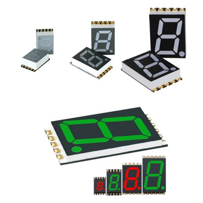 Surface Mount 7-Segment LED Display